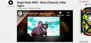 Stogie Geeks - Chinnock Cellars Cigars
